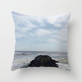 Rock Dock Throw Pillow
