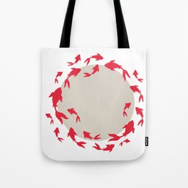 Koi-koi fish Tote Bag