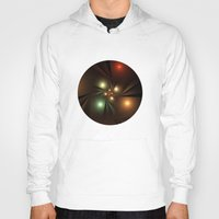 the lights Hoodies featuring Lights by Klara Acel