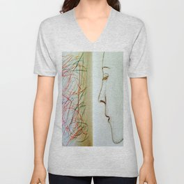 Artificial Intelligence. Unisex V-Neck