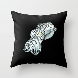 Pajama Squid Throw Pillow