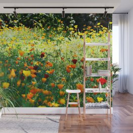 full of flower power Wall Mural