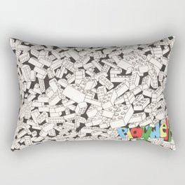 LEGO: Playwell.  Rectangular Pillow
