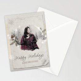 OUAT HAPPY HOLIDAYS // The Queen 2 Stationery Cards