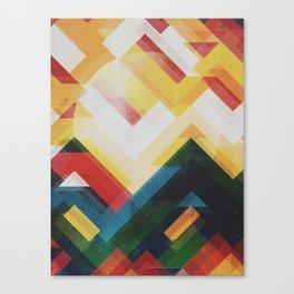 Mountain of energy Canvas Print