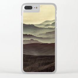 Layers of Toscany Clear iPhone Case