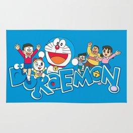 Doraemon Family Rug
