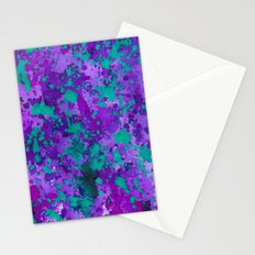 Purple Reign Stationery Cards