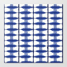 Indigo Stripe Canvas Print