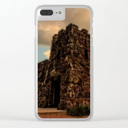 Coronado Heights Sunset Clear iPhone Case