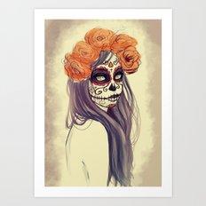 Catrina Art Print