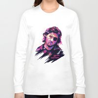 kurt rahn Long Sleeve T-shirts featuring Kurt Russell: BAD ACTORS by Largetosti
