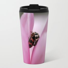 Pink Petal Love Travel Mug
