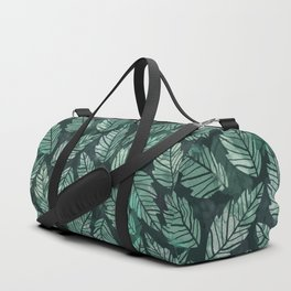 Colorful leaves IV Duffle Bag