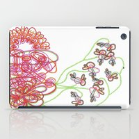 tequila iPad Cases featuring Tequila Sunrise by Mary Holland