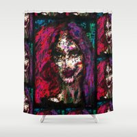 sister Shower Curtains featuring Sister Nyx by brett66