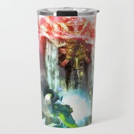 Battle magic mummy Travel Mug