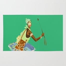 ORIXAS_ oxossi Rug