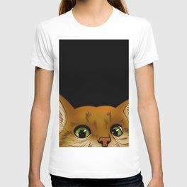 Peaking Cat T-shirt