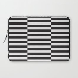 IKEA STOCKHOLM Rug Pattern - black stripe black Laptop Sleeve
