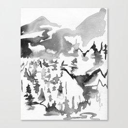 Fraser Canyon Canvas Print