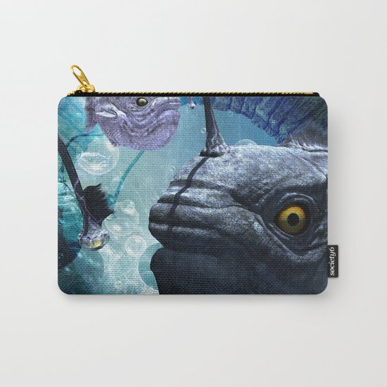 The frogfish  Carry-All Pouch