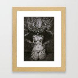 Slipping HR Framed Art Print