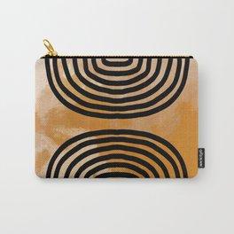 Orange Tye-Dye Arches Carry-All Pouch