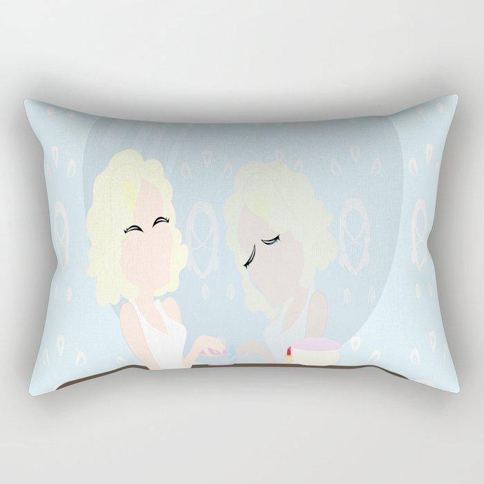 Marilyn true self Rectangular Pillow