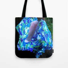 Conque turquoise Tote Bag