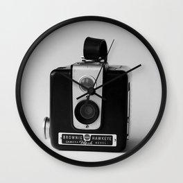 Brownie Hawkeye Wall Clock