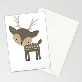 Woodland Deer Stationery Cards