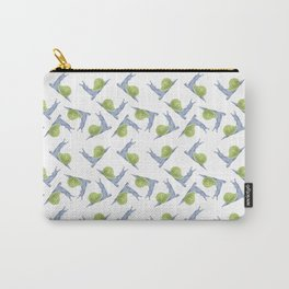 pattern-snail-green Carry-All Pouch