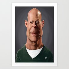 Celebrity Sunday - Bruce Willis Art Print