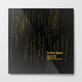 Cadinal System - SAO Metal Print