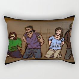 the trading deadline Rectangular Pillow