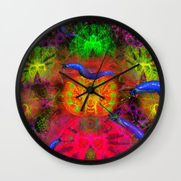 Cthulhu and His Minion s Wall Clock