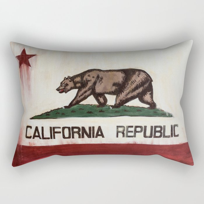 CALIFORNIA REPUBLIC Rectangular Pillow