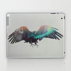 Eagle In The Aurora Borealis Laptop & iPad Skin