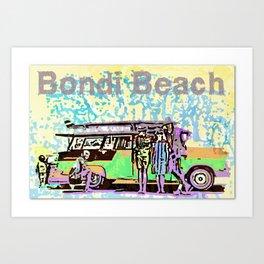 Bondi Wave Art Print