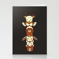 totem Stationery Cards featuring Totem by Freeminds
