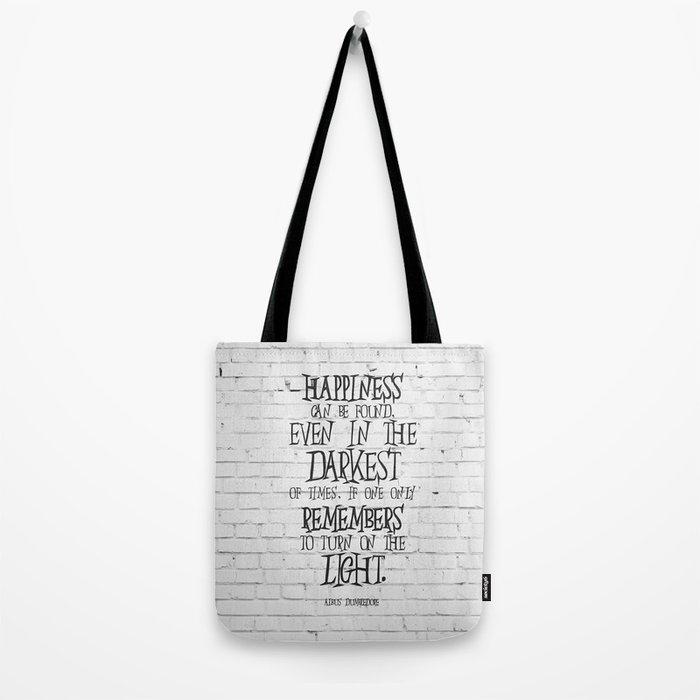 Albus Dumbledore Quote Inspirational Tote Bag