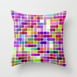 Re-Created Cypher 15.0 by Robert S. Lee Throw Pillow