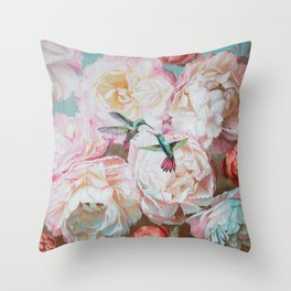 LOVE in the air Throw Pillow