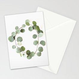 Eucalyptus Circle Stationery Cards