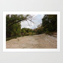 Brushy Creek Art Print