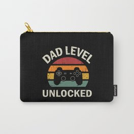 Dad Level Unlocked Carry-All Pouch