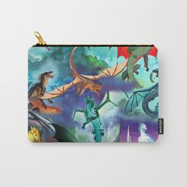 Wings of fire all dragon bg Carry-All Pouch
