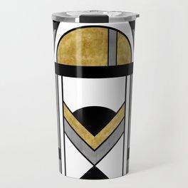 Up and Away - Art Deco Spaceman Travel Mug