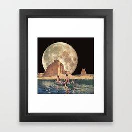MOON RIVER Framed Art Print